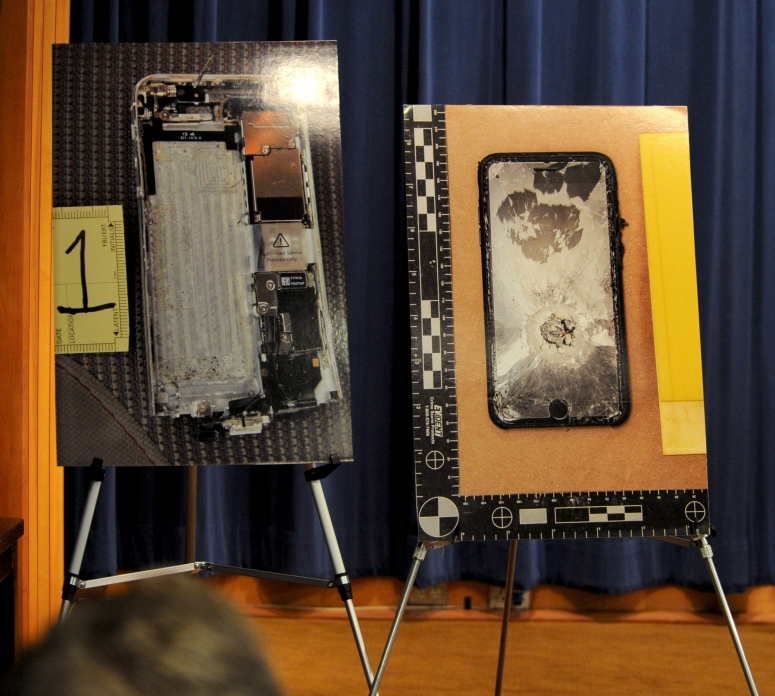 Photos of Pensacola shooter's iPhones