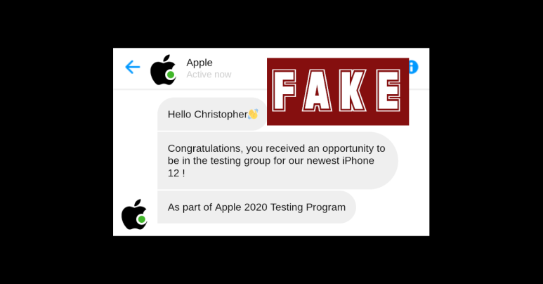 "iPhone 12 scam pretends to be Apple ""chatbot"" – don't fall for it!"