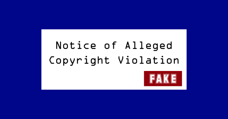 """Facebook """"copyright violation"""" tries to get past 2FA – don't fall for it!"""