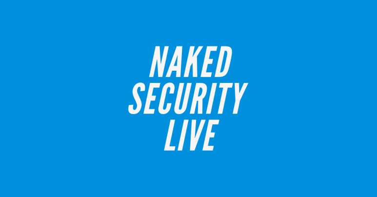 Naked Security Live – ICU: How much do your home-working photos give away?