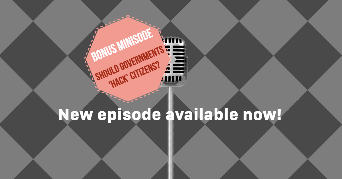 S3 Ep28.5: Hacking back – is attack an acceptable form of defence? [Podcast]