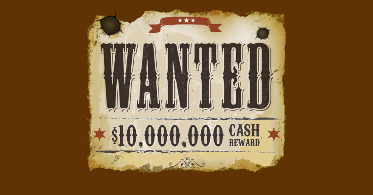 Want to earn $10 million? Snitch on a cybercrook!